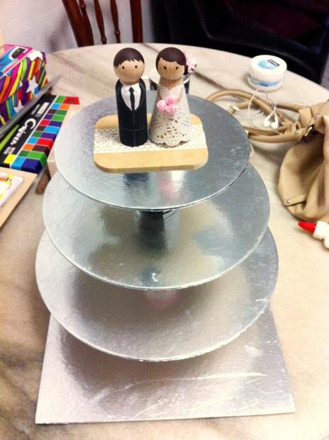 Cake Stand, Cupcake Tier, DIY
