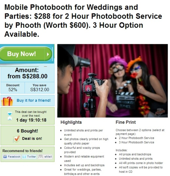 Wedding Photobooth!