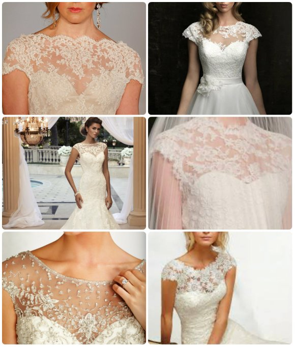 Lace Illusion Necklines
